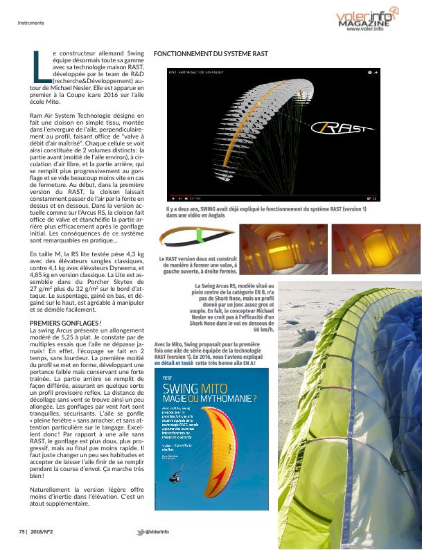 Voler Info Magazine Page 074
